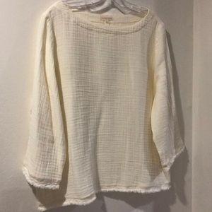 Gauze 100% organic cotton blouse